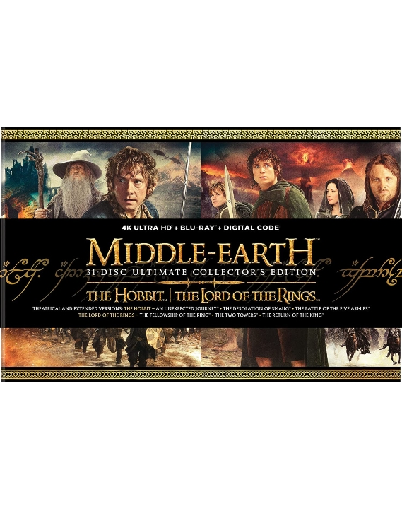 Middle Earth 6-Film Ultimate Collector's Edition in 4K Ultra HD Blu-ray at HD MOVIE SOURCE