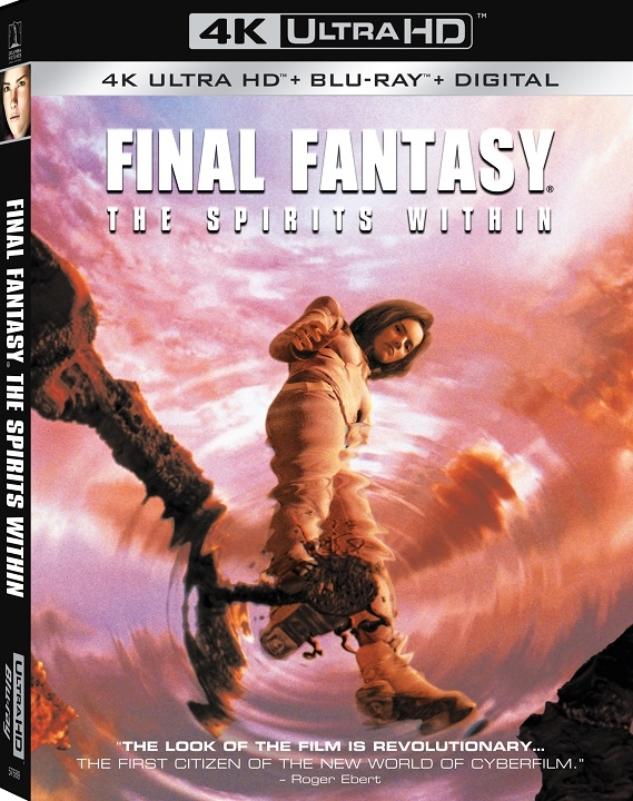 Final Fantasy: The Spirits Within in 4K Ultra HD Blu-ray at HD MOVIE SOURCE