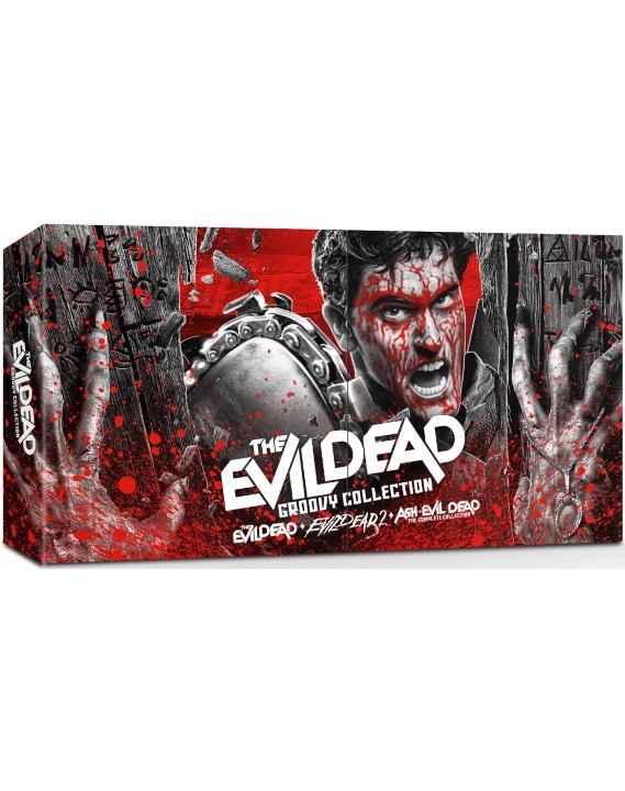 Evil Dead Groovy Collection in 4K Ultra HD Blu-ray at HD MOVIE SOURCE
