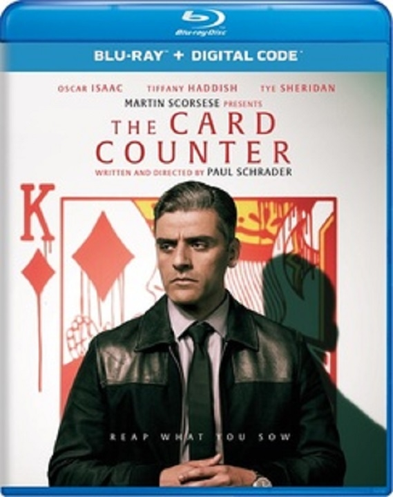 The Card Counter Blu-ray