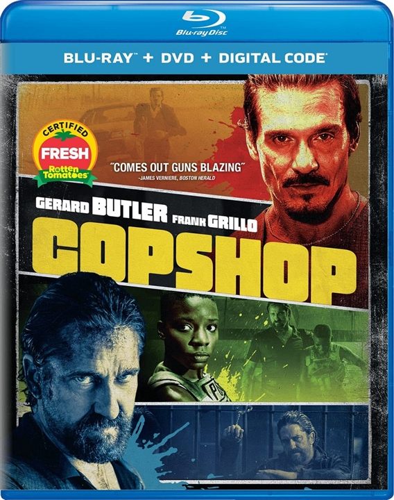 Copshop Blu-ray
