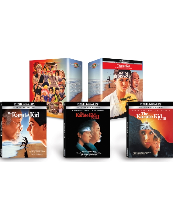 The Karate Kid 3 Movie Collection in 4K Ultra HD Blu-ray at HD MOVIE SOURCE