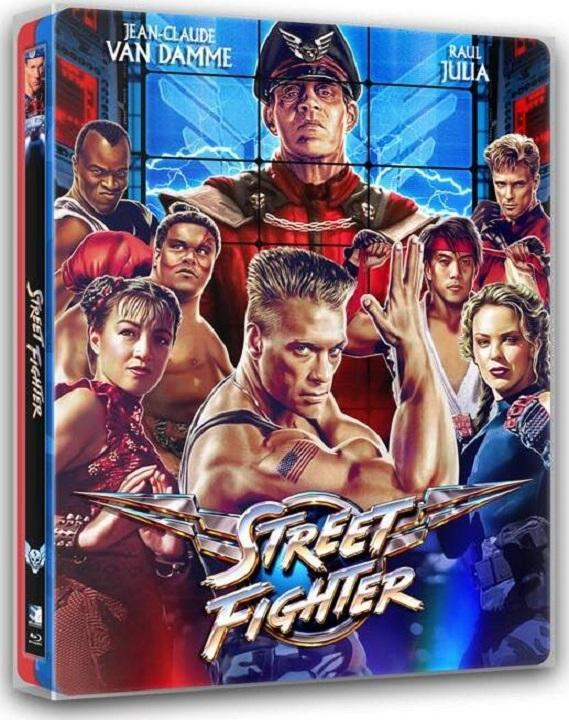 Street Fighter SteelBook Blu-ray
