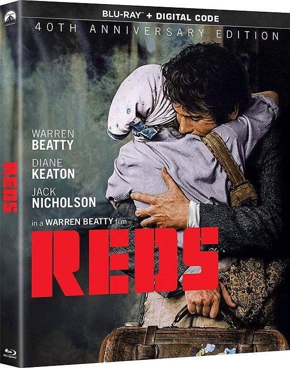 Reds (40th Anniversary Edition) Blu-ray