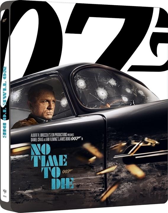 No Time to Die SteelBook in 4K Ultra HD Blu-ray at HD MOVIE SOURCE