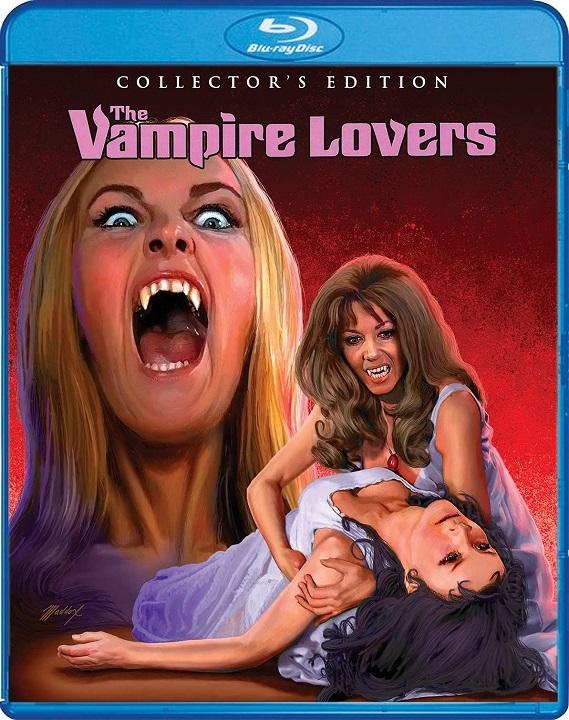 The Vampire Lovers Blu-ray
