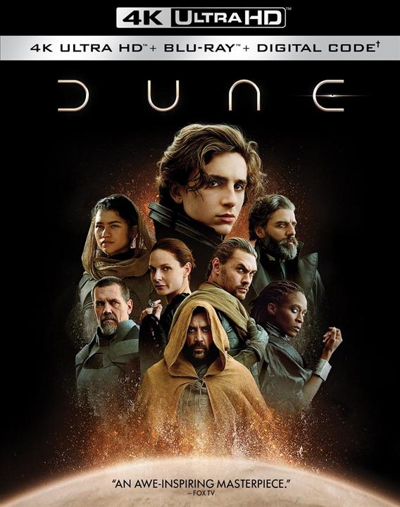 Dune (2021) in 4K Ultra HD Blu-ray at HD MOVIE SOURCE