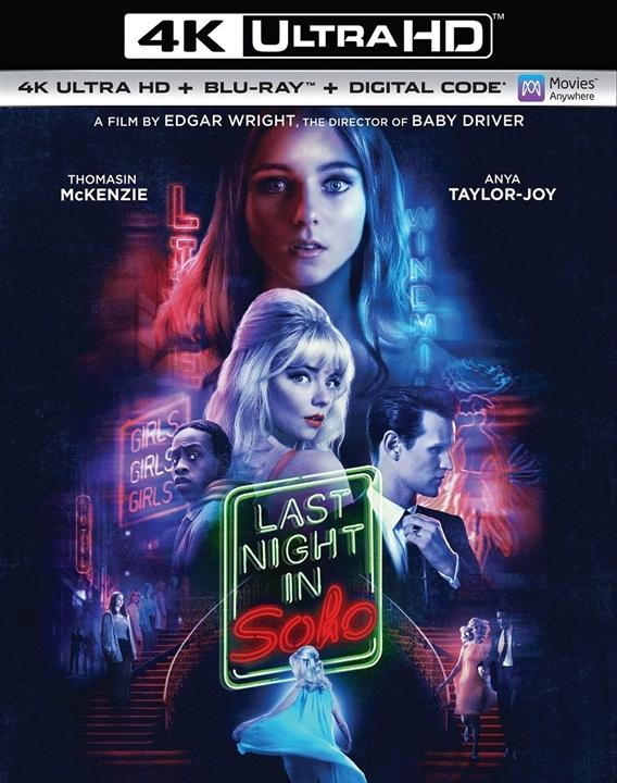 Last Night in Soho in 4K Ultra HD Blu-ray at HD MOVIE SOURCE