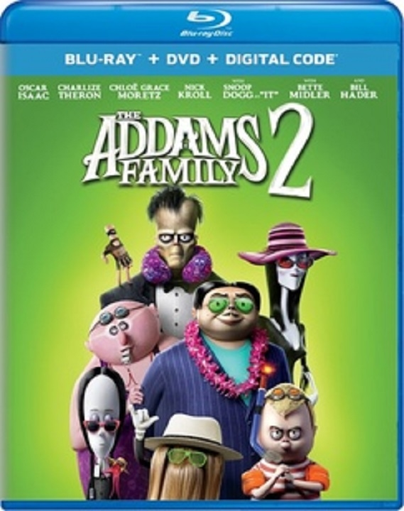 The Addams Family 2 Blu-ray