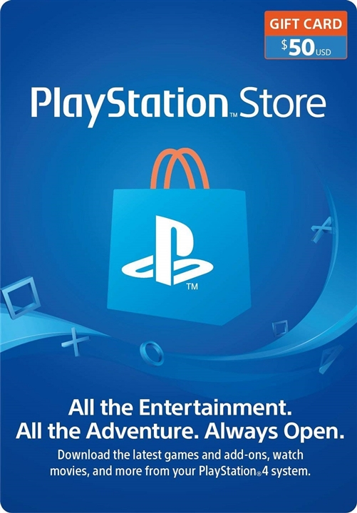 Sony PSN - $50 Playstation Network Card