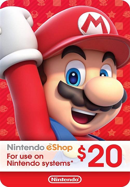 Nintendo eShop Prepaid Card $20