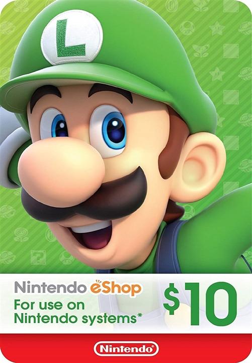 Nintendo eShop Prepaid Card $10